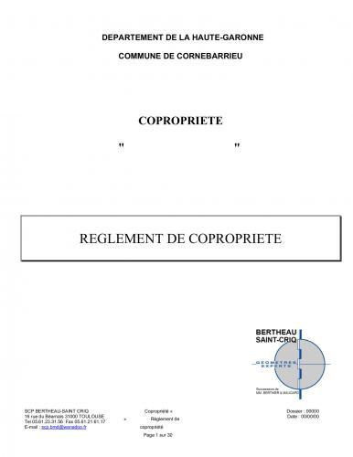 Extrait Règlement Copropriété-1