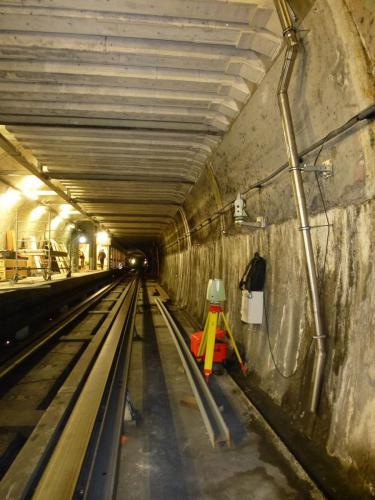 Auscultation permanente durant 12 mois au métro à Esquirol