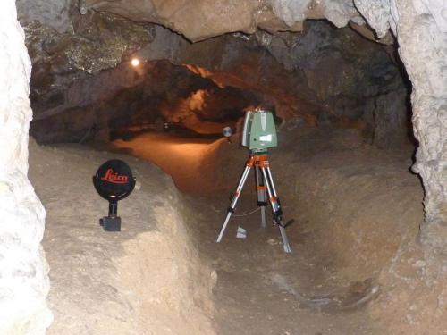 Scan 3D de la Grotte de la vache (Ariège)